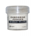 Ranger Specialty 1 Embossing Powders: Silver Pearl