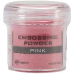 Ranger Opaque/Shiny Embossing Powders: Pink