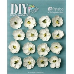 Petaloo - DIY Paintables - Forget me Nots x 16 - White
