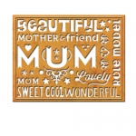 Spellbinders - Card Creator - Wonderful Mum Dies