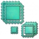 Spellbinders - Nestabilities - Deco Elements - Triple Floral Dies