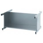 "Safco Steel Flat File: High Base, Gray, 20"" x 40 3/8"" x 29 3/8"""
