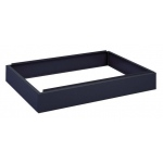 "Safco Steel Flat File: Closed Base, Black, 6"" x 53 3/8"" x 38 5/8"""