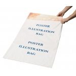 "Alvin® Poster Illustration/Foam Core Bag 35"" x 45"": Clear, Polyethylene, (model PBF45), price per box"