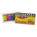 Winsor & Newton™ Galeria™ Acrylic 10-Color Set: Multi, Tube, 20 ml, Acrylic