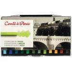 Conte™ Pastel Crayon 12-Color Landscape Set: Multi, Stick, (model C50130), price per set