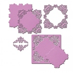 Spellbinders - Nestabilities - Deco Accents - Reverent Square Dies