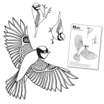 Claritystamps - Garden Birds Stamps and Mask