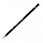 Derwent Graphic Pencil 6H Hard: Black/Gray, 6H, Drawing, (model 34192), price per each