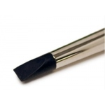 Colour Shaper® Black Tip Flat Chisel Brush #16: Silicone, Flat Chisel, Firm