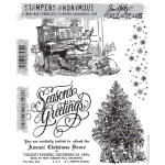 Stampers Anonymous - Tim Holtz - Christmas Magic Stamp Set