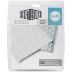 We R Memory Keepers - Next Level 3D Embossing Folders - Geometric