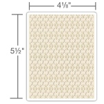 Sizzix - Texture Fades Embossing Folder - Argyle by Tim Holtz