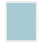 Sizzix - Texture Fades Embossing Folder - Quilted by Tim Holtz
