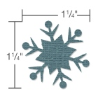 Sizzix - Paper Punch - Snowflake #2 Large by Tim Holtz