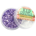 Ranger - ICE Resin - Art Mechanique Inclusions - German Glass Glitter - Amethyst
