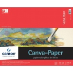 "Canson® Foundation Series Canva-Paper™ 16"" x 20"" 10-Sheet Pad: Fold Over, White/Ivory, Pad, 10 Sheets, 16"" x 20"", (model C100510843), price per 10 Sheets pad"