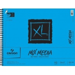 "Canson® XL® 14"" x 17"" Mix Media Pad (Side Wire): Wire Bound, White/Ivory, Pad, 60 Sheets, 14"" x 17"""