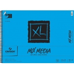 "Canson® XL® 18"" x 24"" Mix Media Pad (Side Wire): Wire Bound, White/Ivory, Pad, 30 Sheets, 18"" x 24"""