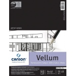 "Canson® Artist Series 9"" x 12"" Vellum Sheet Pad: Fold Over, White/Ivory, Pad, 50 Sheets, 9"" x 12"", Smooth"