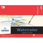 "Canson® Foundation Series 15"" x 20"" Watercolor Cold Press 15-Sheet Pad: Fold Over, White/Ivory, Pad, 15 Sheets, 15"" x 20"", Cold Press"