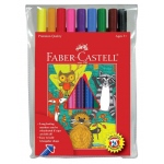 Faber-Castell® GRIP Washable 10 Color Marker Set: Washable, (model FC155310), price per set