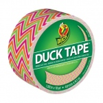 Duck Tape® Zigzag Tape (Roll): Multi, Roll, 10 yd, Pattern, (model DT280978), price per each