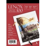 "Lenox 100 Cotton Printing & Drawing Paper Pad 5"" x 7"": White/Ivory, Pad, 15 Sheets, 5"" x 7"", Medium, Drawing, (model L21-LEN250WH57), price per 15 Sheets pad"
