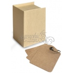 Graphic 45 - Staples - Book Box Ivory
