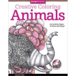 Design Originals - Creative Coloring Animals Coloring Book