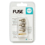 We R Memory Keepers - Photo Sleeve Fuse Tool - Fuse Tool Tips - 4pk