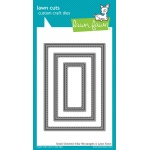 Lawn Fawn - Lawn Cuts - Small Stitched 4 Bar Rectangles Dies