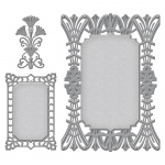 Spellbinders - Nestabilities - Art Deco - Deco Accent - Astoria Decorative Accent