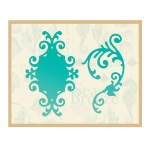 Couture Creations - Sandy Frame & Flourish Die