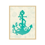 Couture Creations - Anchored Flourish Die