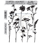 Stampers Anonymous - Tim Holtz - Wildflowers Stamps