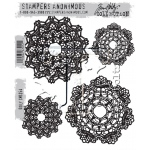 Stampers Anonymous - Tim Holtz - Doily Stamps