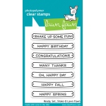 Lawn Fawn - Stamps - Ready, Set, Shake Stamps