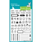 Lawn Fawn - Stamps - Plan On It Stamps