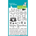 Lawn Fawn - Stamps - Mom & Me Stamps