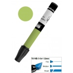 Chartpak® AD™ Art Marker Olive: Green, Xylene-Based, Tri-Nib, (model AP31), price per each