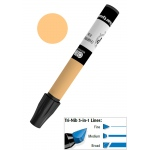 Chartpak® AD™ Art Marker Cadmium Orange: Orange, Xylene-Based, Tri-Nib, (model AP64), price per each