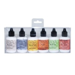 Ken Oliver - Color Burst 6 Pack Set - Liquid Metals - Heavy Metals
