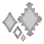 Spellbinders - Nestabilities - Art Deco - Deco Element - Ritz Decorative Element
