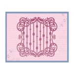 Couture Creations - Impression Die - Waterfall Frame Die