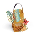 Sizzix - Thinlits Die Set 9 Pack - Butterfly Lantern by Lori Whitlock