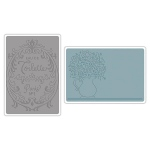 Sizzix - Textured Impressions Embossing Folder - Botanical by Jen Long