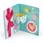 Sizzix - Thinlits Die Set 14 Pack - Thinking of You 3-D Drop-ins Sentiment by Stephanie Barnard