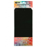 Ranger - Dyan Reaveley - Dylusions Surfaces - Journal Tags - Black #10 Tags - 10 Pack