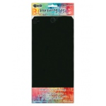 Ranger - Dyan Reaveley - Dylusions Surfaces - Journal Tags - Black #12 Tags - 10 Pack